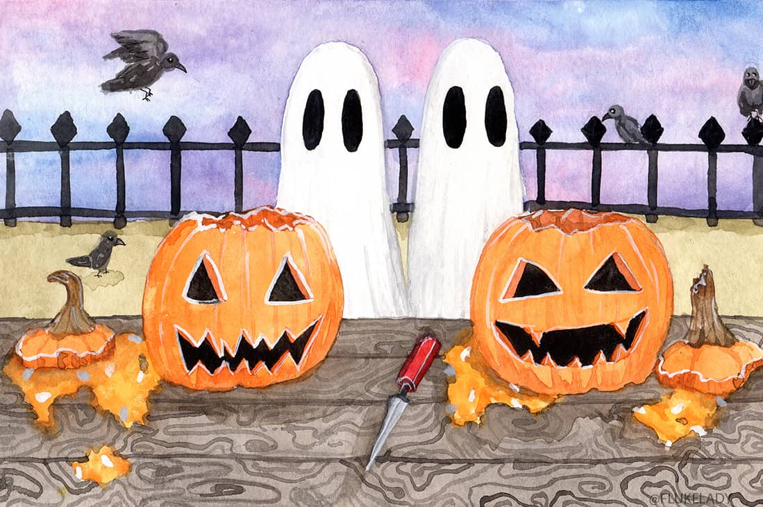 Ghostober Pumpkin