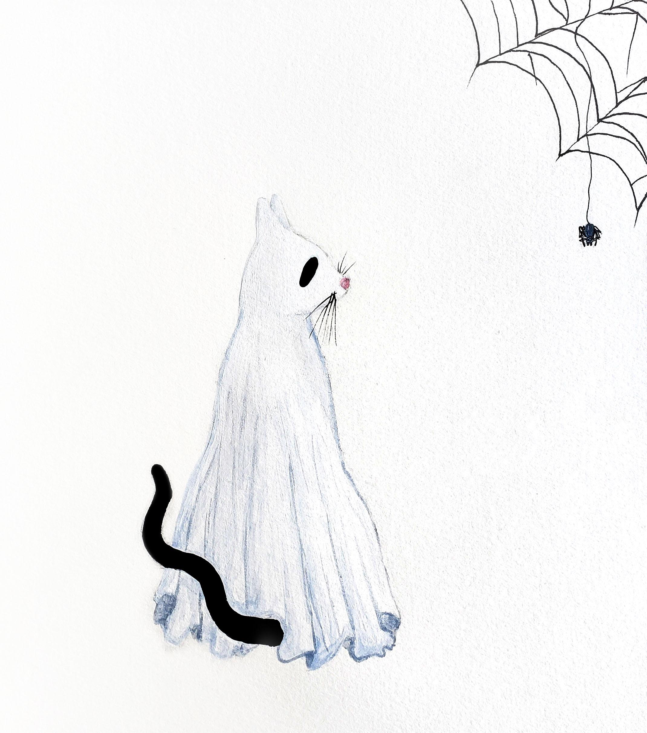 ghost cat & friend