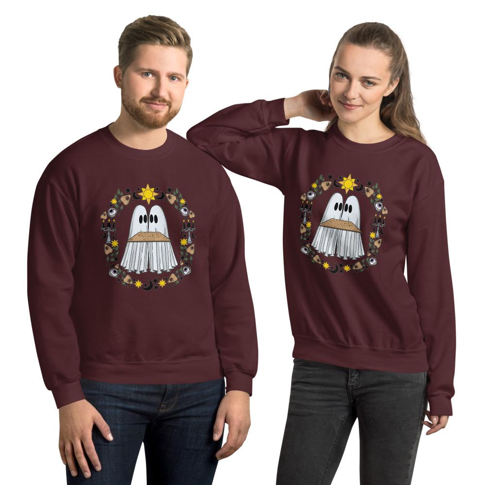 unisex-crew-neck-sweatshirt-maroon-front-6149fe614960d.jpg