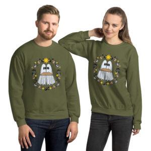 unisex-crew-neck-sweatshirt-military-green-front-6149fe614ef33.jpg