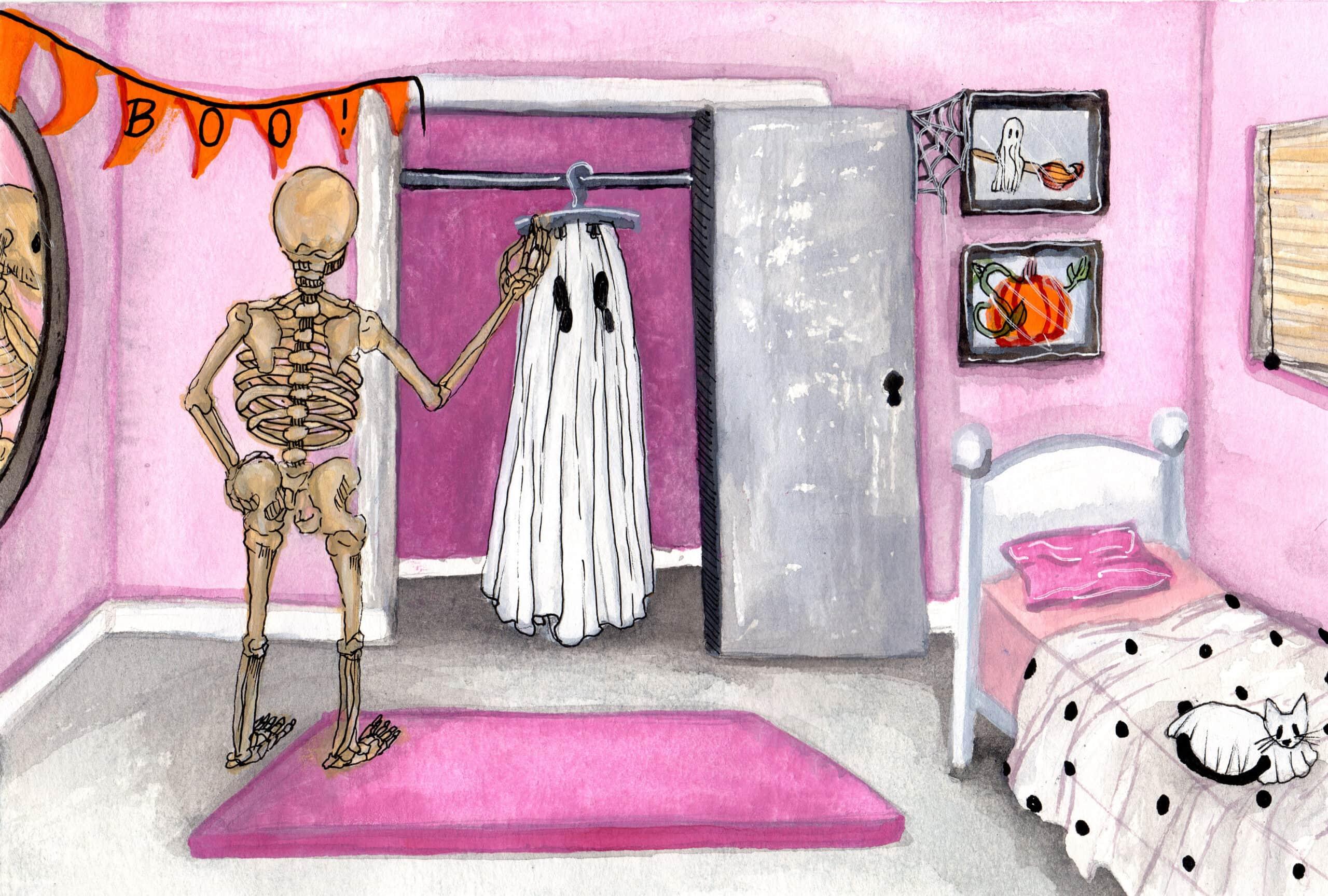 Skeleghost (Ghostober 2021)