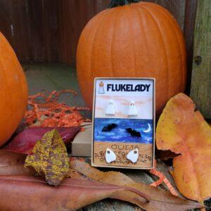 Ghost Earring Set – Fall Photo