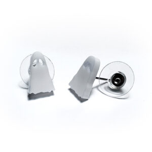 Ghost Post / Stud Earrings